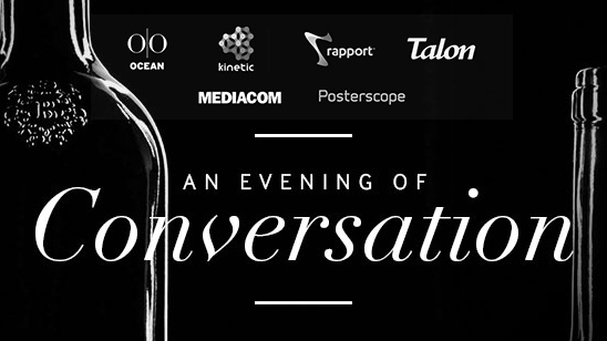 An Evening of Conversation Out of Home & Wine with Tom Goddard & Friends